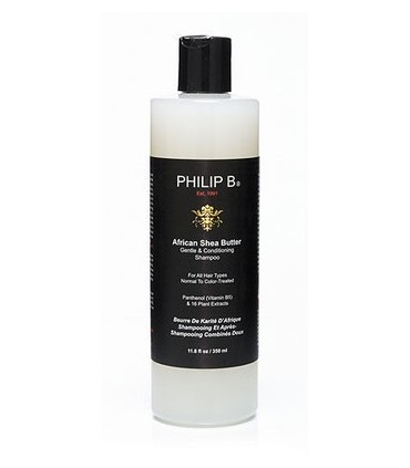 Philip B African Shea Butter Gentle Champú 350ml