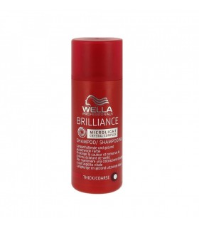 Wella Brilliance Champú Cabello Coloreado Grueso 50ml