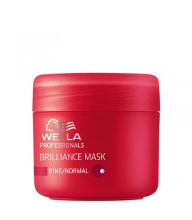 Wella Brilliance Mascarilla Cabello Fino/Normal 25ml