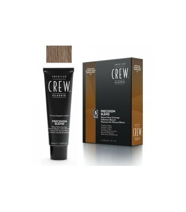 American Crew Precision Blend Color Castaño Ceniza 5/6 3x40ml