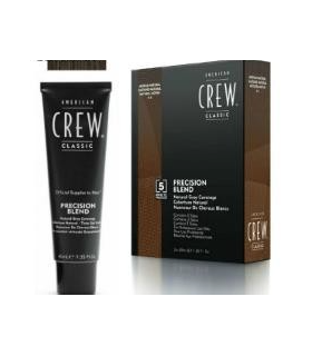 American Crew Precision Blend Color Castaño Natural 4/5 3x40ml