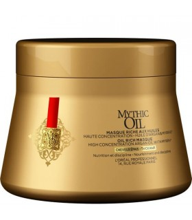 L'Oreal Mythic Oil Mascarilla Cabello Grueso 200ml