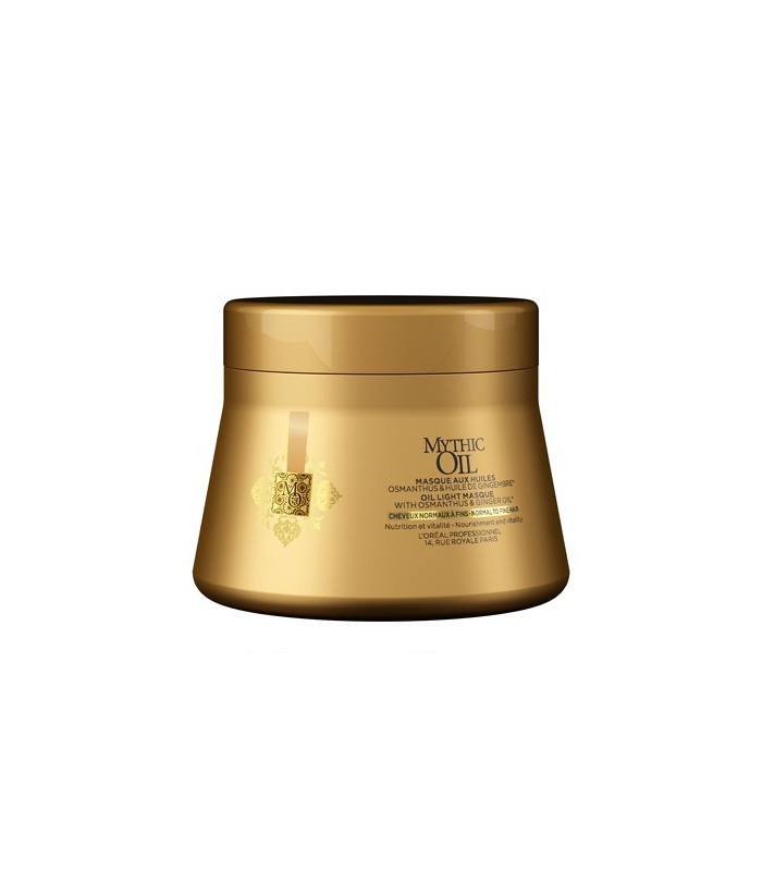 L'Oreal Mythic Oil Mask Fine/Normal Hair 200ml