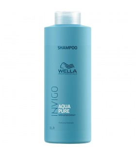 Wella Aqua Pure Shampoo 1000ml