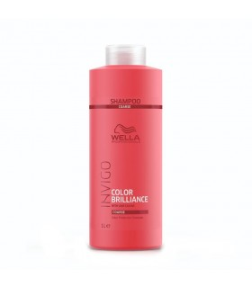 Wella Color Brilliance Champú Cabello Grueso 1000ml