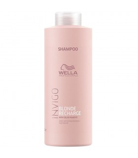 Wella Blonde Recharge Champú 1000ml