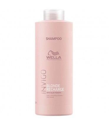 Wella Blonde Recharge Shampoo 1000ml