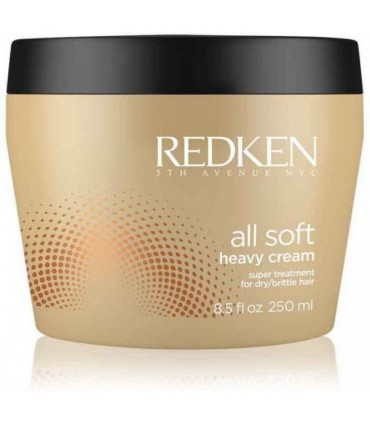 Redken All Soft Mascarilla Heavy Cream 250ml