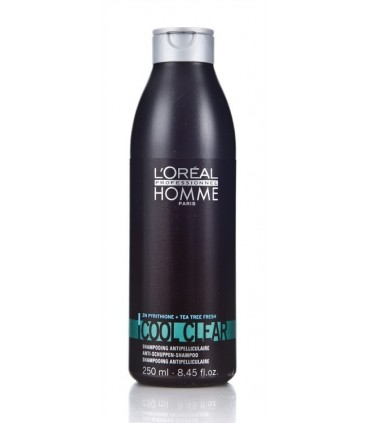 Homme tratamiento ch. Cool clear frasco 250 ml